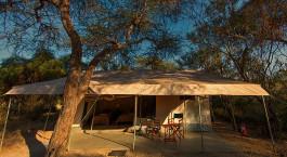 Gu00e4stezelt im Amboseli Porini Adventure Camp in Amboseli, Kenia