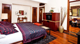 Double room at Victoria Angkor Resort & Spa in Siem Reap, Cambodia