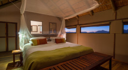 Double room at Sossusvlei Desert Lodge Hotel in Sossusvlei, Namibia