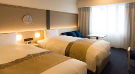 Zweibettzimmer im Hotel Gracery Kyoto Sanjo in Kyoto, Japan