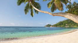 Anse Soleil - Paradise beach on tropical island Mahu00e9