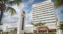 Auu00dfenansicht des InterContinental Presidente Cancun Resort in Cancu00fan, Mexiko