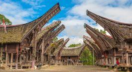 Tana Toraja in Indonesien