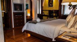 Zimmer im Hotel Casona de la China Poblana, Puebla in Mexico