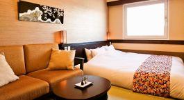 ein Hotelzimmer