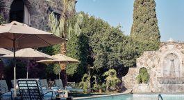 Swimming Pool im Hotel Belmond Casa de Sierra Nevada, San Miguel de Allende in Mexico