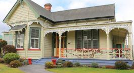 Auu00dfenansicht von Robertson House (B&B), Rotorua in Neuseeland