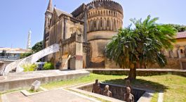 Christ Church eine anglikanische Kathedrale in Stone Town, Sansibar, Tansania