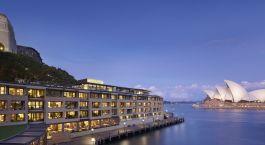 Auu00dfenansicht von Hotel Park Hyatt Sydney, Australien