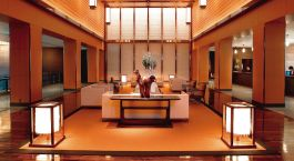 Lobby im Mandarin Oriental Tokyo Hotel in Tokio, Japan