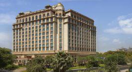 Auu00dfenansicht Leela Palace Hotel New Delhi Indien