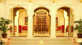 Lobby im Dev Niwas Bundi Hotel in Bundi, Nordindien