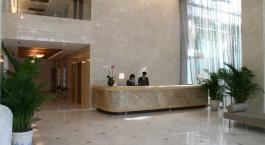 Rezeption des Liberty Central Saigon Riverside Hotels in Ho Chi Minh Stadt/Saigon, Vietnam