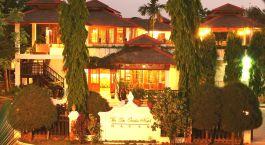 Enchanting Travels - Asien Reisen - Myanmar - Bagan - Thazin Garden - Auu00dfenansicht bei Nacht
