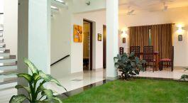 Hall, The Francis Residence, Cochin, Kerala, South India, Asia
