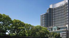 Auu00dfenansicht des Palace Hotels Tokyo, Tokio, Japan