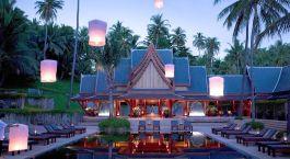 Auu00dfenansicht der Amanpuri, Phuket in Thailand