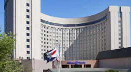 Auu00dfenansicht von Hotel Hilton Narita Airport, Tokio, Japan
