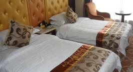 Zweibettzimmer im Shangbala Hotel in Lhasa, Tibet