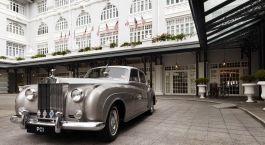 Auu00dfenansicht von Eastern & Oriental Hotel, Penang in Malaysia