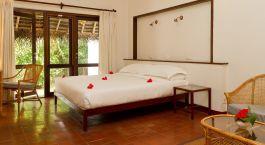 Doppelzimmer im Marari Beach Resort in Marari Strand, Su00fcdindien