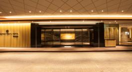 Auu00dfenansicht des Tokyu Kanazawa Hotel in Kanazawa, Japan