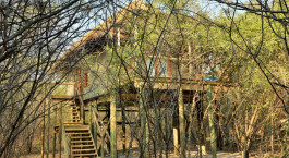 Auu00dfenansicht im Hotel Chobe Bakwena Lodge in Chobe National Park, Botswana