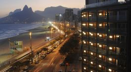 View of Hotel Fasano Rio de Janeiro, Brazil, South America