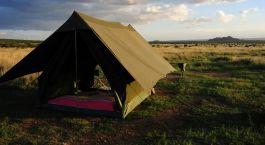 Auu00dfenansicht von Karisia Klassiches Busch Camp in Laikipia - Wandersafari, Kenia