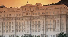 View of Hotel Belmond Copacabana Palace, Rio de Janeiro, Brazil, South America