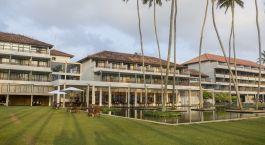 Auu00dfenansicht von Hotel Blue Water, Wadduwa, Sri Lanka