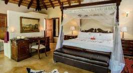 Doppelzimmer im Shiduli Private Game Lodge, Zentral Kruger in Su00fcdafrika