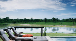 Terrasse im Arathusa Safari Lodge in Kruger, Su00fcdafrika