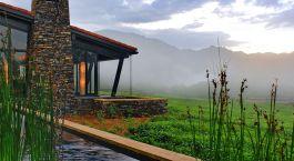 Auu00dfenansicht von One&Only Nyungwe House in Nyungwe Forest, Ruanda
