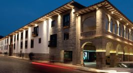 Exterior view of JW Marriott El Convento in Cusco, Peru, South America
