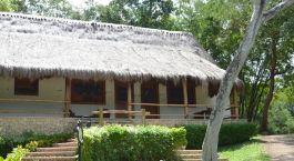 Auu00dfenansicht der The Lodge at Chichu00e9n Itzu00e1 in Mexiko