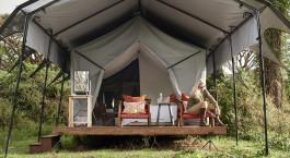 Auu00dfenansicht von Sanctuary Ngorongoro Crater Camp in Lake Manyara & Ngorongoro Krater, Tansania