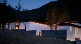 Auu00dfenansicht im Hotel Amankora ,Thimphu, Bhutan