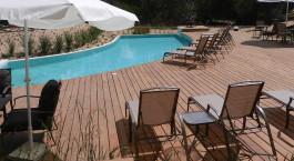 Poolanlage im La Viuda de Josu00e9 Ignacio Hotel in Josu00e9 Ignacio, Uruguay