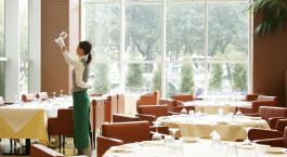 Restaurant im Hotel Oriental Hotel Hiroshima in Hiroshima, Japan