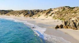Strand in Overberg, Su00fcdafrika
