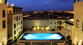Pool im Palais Faraj in Fes, Marokko