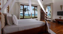 Doppelzimmer mit Blick aufs Meer im Ngapali Bay Villas & Spa in Ngapali Strand, Myanmar