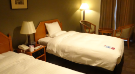 Zweibettzimmer im  Hotel ANA Crowne Plaza Nagasaki Glover Hill in Nagasaki, Japan