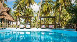 Swimmingpool im Butiama Beach Lodge in Mafia Island, Tansania