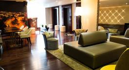Lounge im Stannum Boutique Hotel & Spa, La Paz in Bolivien