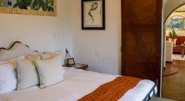 Schlafzimmer im Hotel Finca Rosa Blanca, San Josu00e9 und das Central Valley in Costa Rica