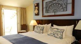 Doppelbettzimmer im Hotel Casa Do Amarelindo, Salvador da Bahia in Brasilien