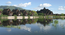 Enchanting Travels - Asia Tours - Myanmar -  Inle Princess Resort - Auu00dfenansicht
