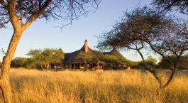 Auu00dfenansicht, Okonjima Bush Suite in Okonjima, Namibia